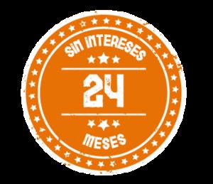 24 meses sin intereses